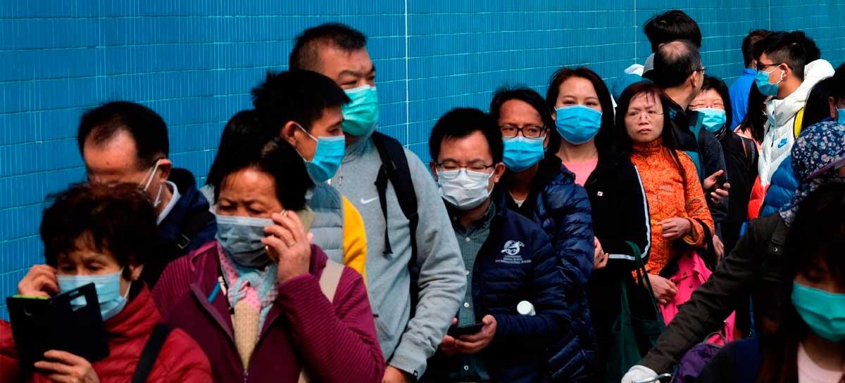 Estudo mostra que Coronavírus pode ficar até sete dias em máscaras cirúrgicas