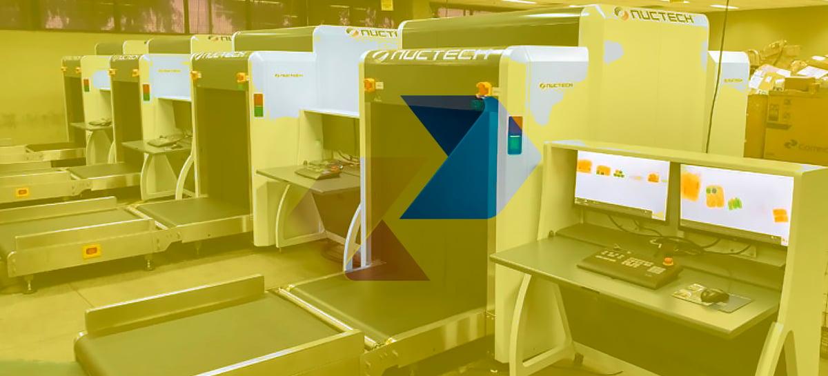 Correios investe R$14 milhões em Raio X para entrada de objetos internacionais no país