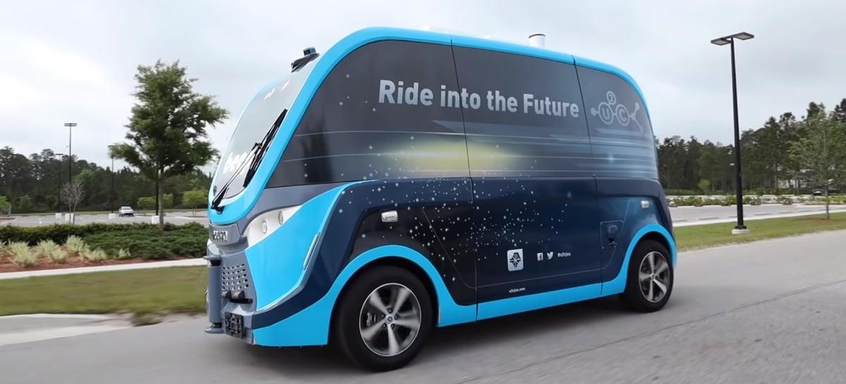 Veículos autônomos estão transportando testes de COVID-19 na Flórida