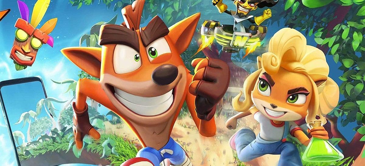 Crash Bandicoot: On the Run! já pode ser baixado no Android e iOS