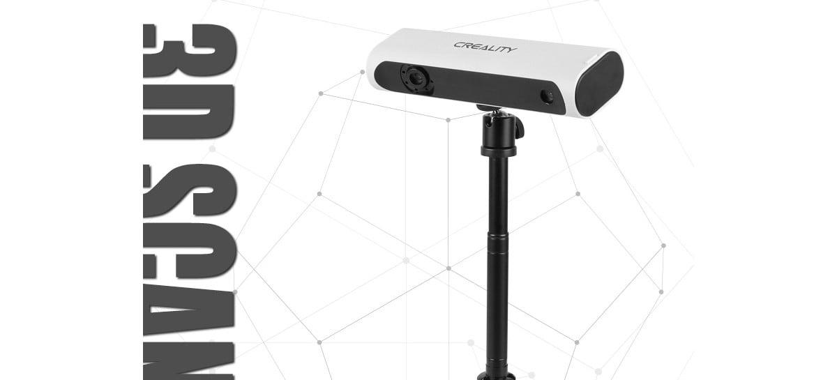 Creality anuncia chegada de scanner 3D no Brasil