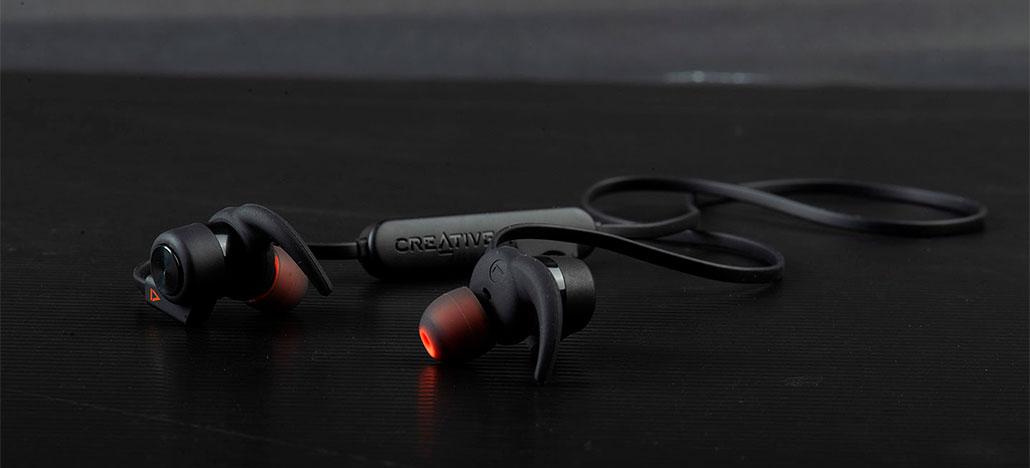 Creative anuncia Outlier One Plus, novos fones de ouvido sem fio com player integrado