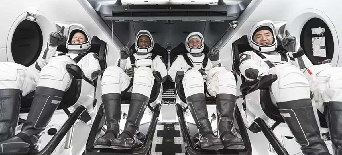 SpaceX envia segunda tripulação à Estação Espacial Internacional da NASA