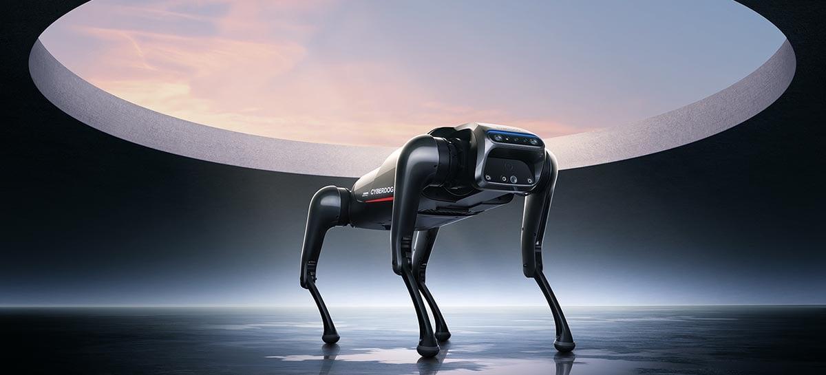 CyberDog: Xiaomi apresenta cão-robô futurista com chip Intel, NVIDIA e SSD de 128GB