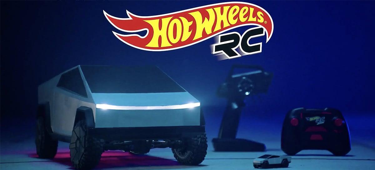 Hot Wheels lança Cybertruck de controle remoto com