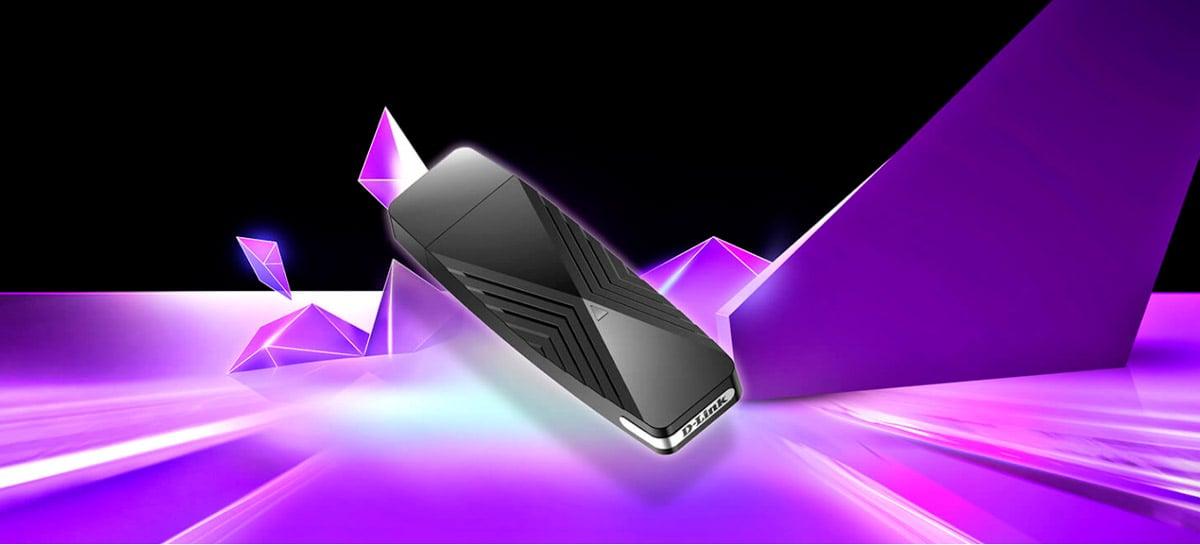 D-Link lança adaptador Wi-Fi 6 em forma de pen drive