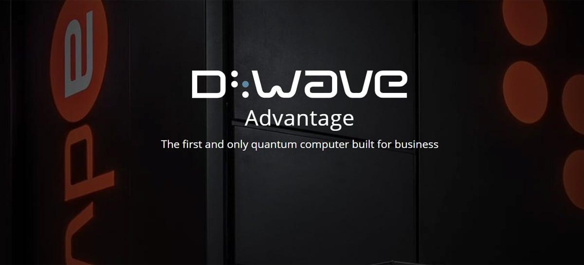 D-Wave anuncia disponibilidade do seu computador quântico D-Wave Advantage