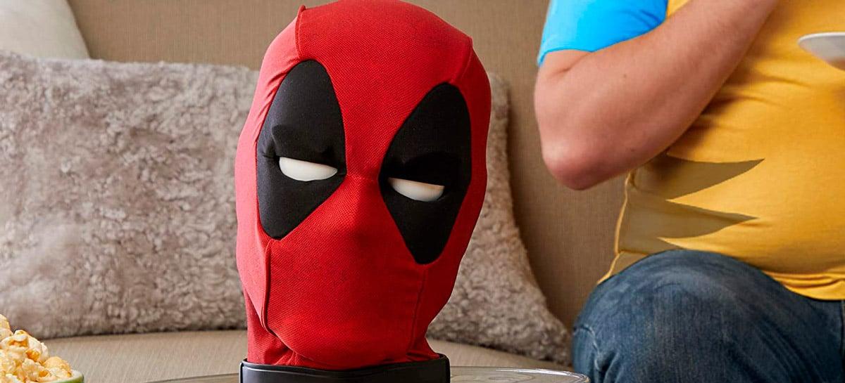 Cabeça animatrônica do Deadpool chega ao Brasil por R$ 999