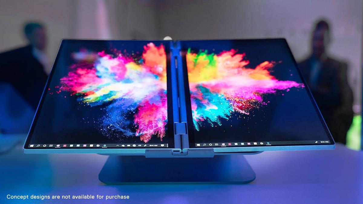 Dell exibe notebooks dobráveis e com duas telas na CES 2020