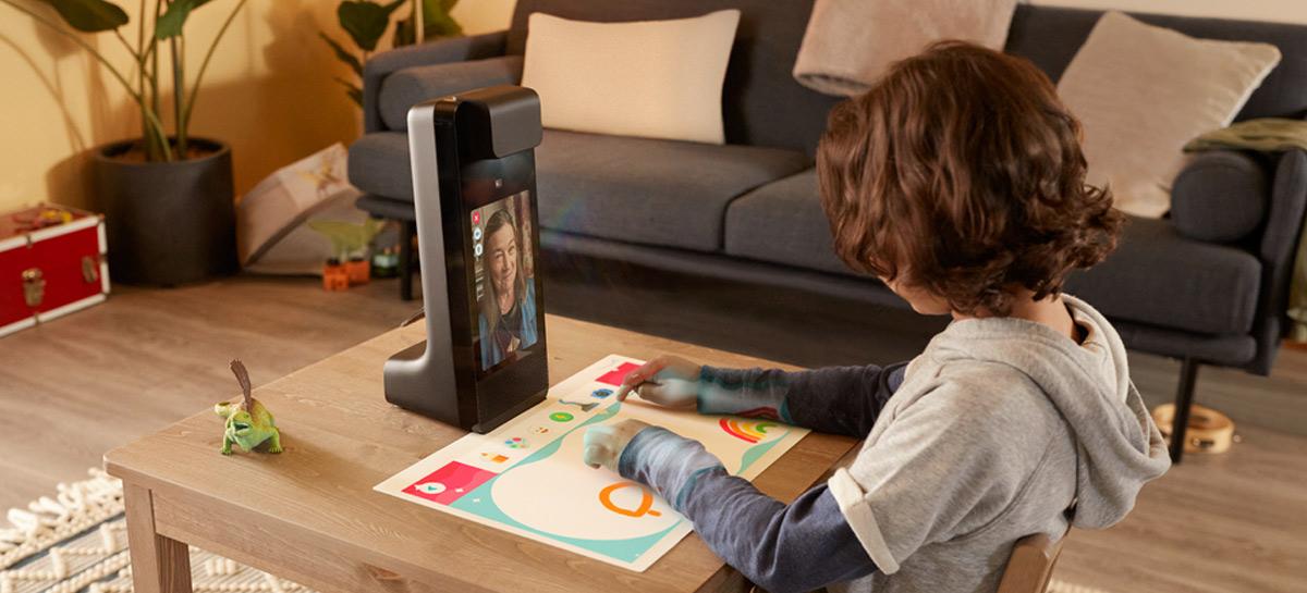 Glow: Amazon apresenta smart video chat para crianças