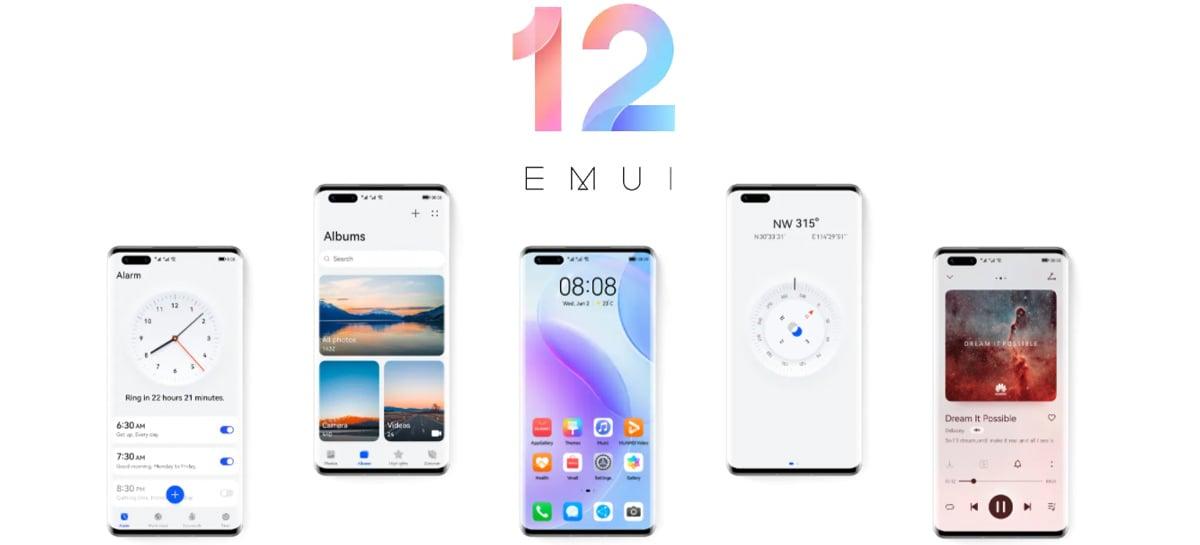 Huawei lança nova interface EMUI 12 inspirada no Harmony OS 2.0