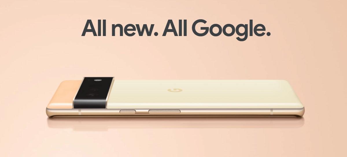 Google anuncia smartphones Pixel 6 e Pixel 6 Pro com chip Tensor e Inteligência Artificial