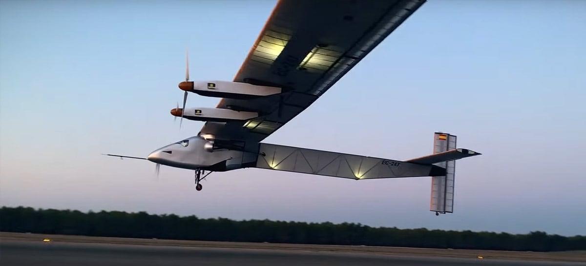 Drone movido a energia solar pode voar por 90 dias seguidos