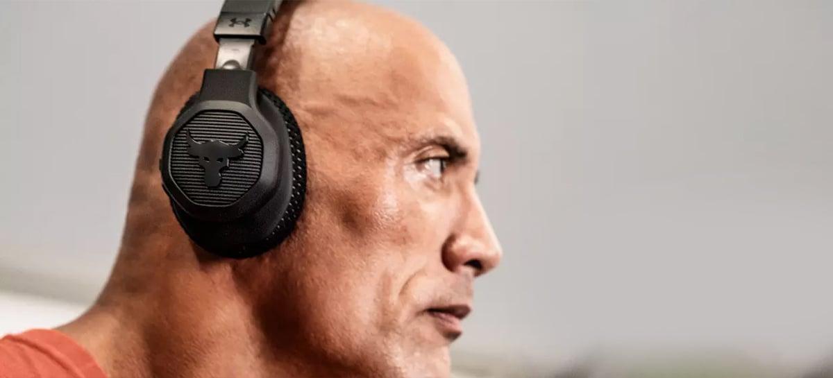 JBL e The Rock lançam fone de ouvido perfeito para usar na academia
