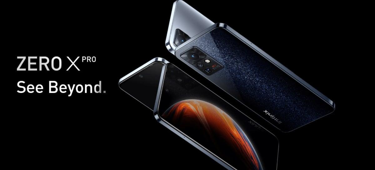 Infinix revela novos smartphones Zero X, Zero X Pro e Zero X Neo com câmera periscópio