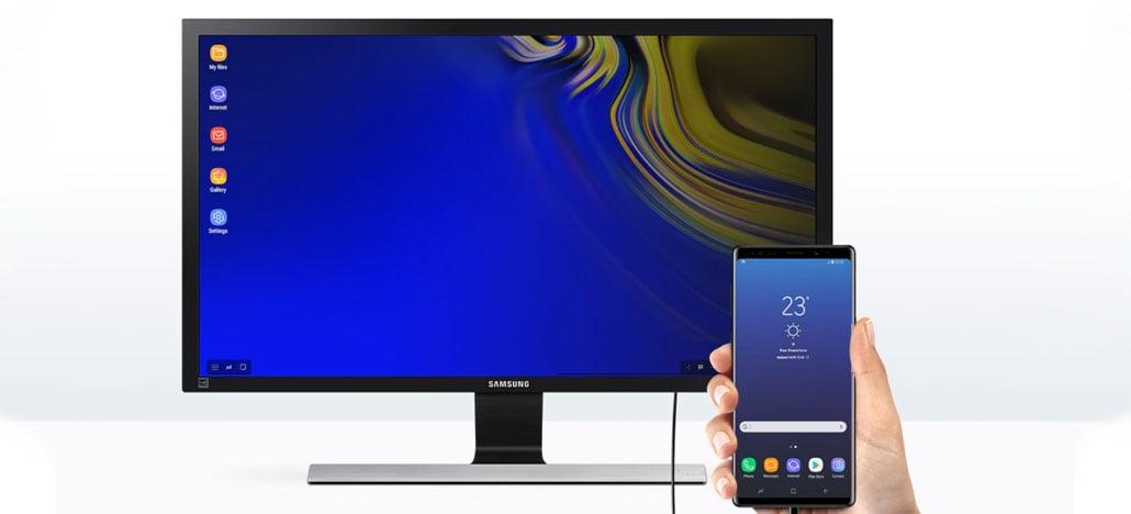 Patente da Samsung revela o DeX Live, que transforma o smartphone em PC sem usar fios [Rumor]