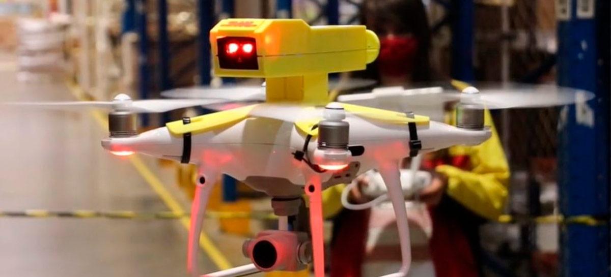 DHL utiliza drone para facilitar gestão de estoque do Grupo LEGO