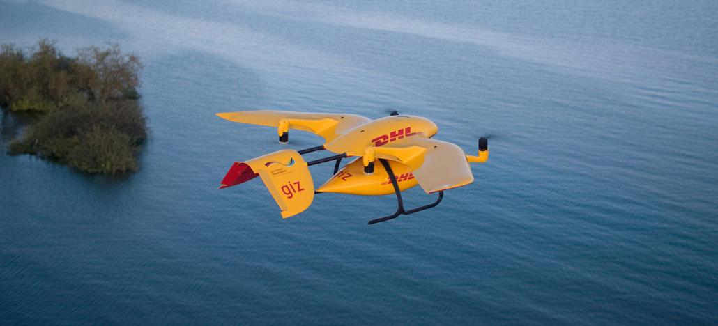 """DHL Parcelcopter voa 59km de maneira autônoma em testes de """"entrega do futuro"""""""