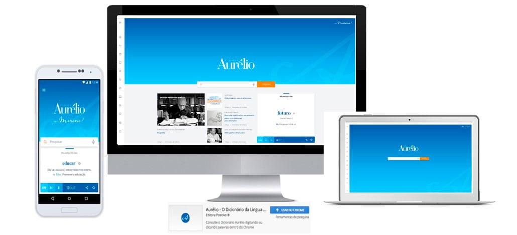 Dicionário Aurélio ganha novas versões digitais para smartphones e desktops