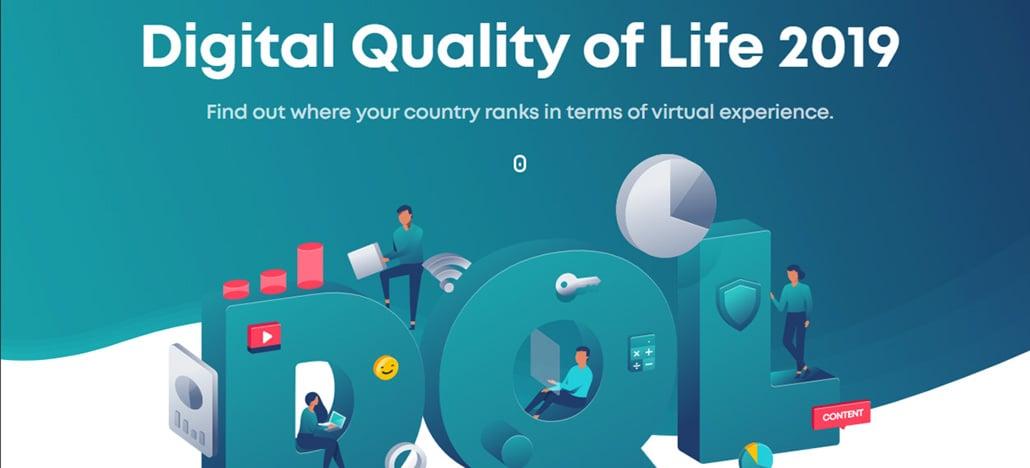 Brasil fica em 52º em ranking de qualidade de vida digital