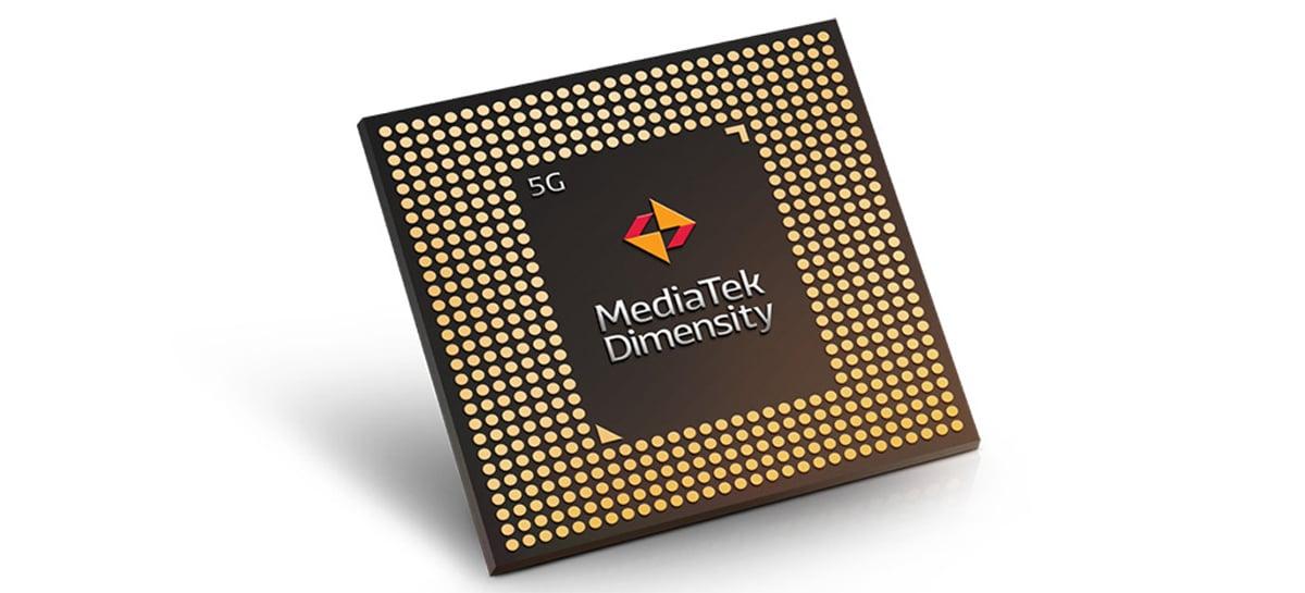 De olho nos smartphones 5G intermediários, MediaTek lança chipset Dimensity 800