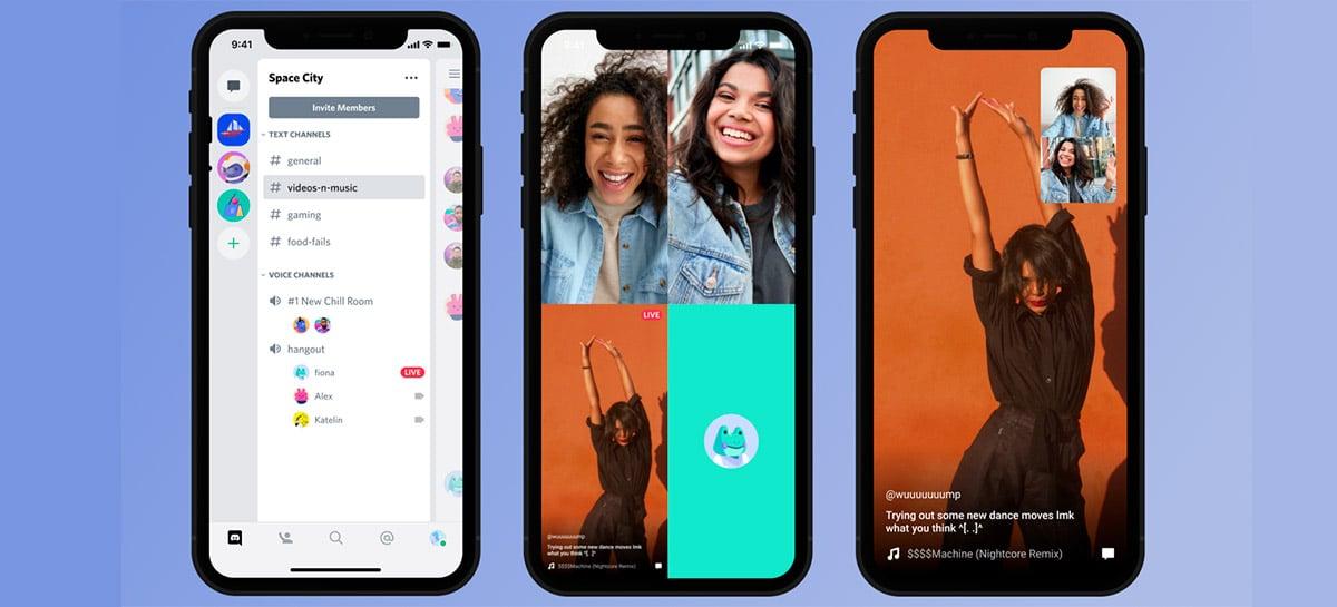 Discord libera compartilhamento de tela em celulares Android e iOS