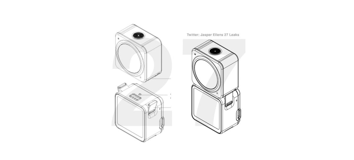 DJI Action 2 pode ter design modular como diferencial frente a GoPro