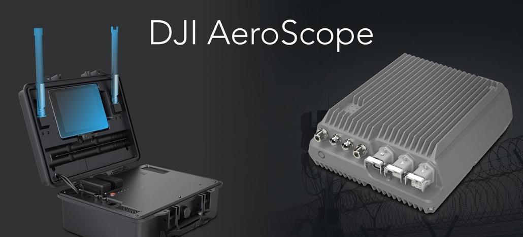 Sistema de detecção de drones DJI AeroScope é aprovado no Reino Unido