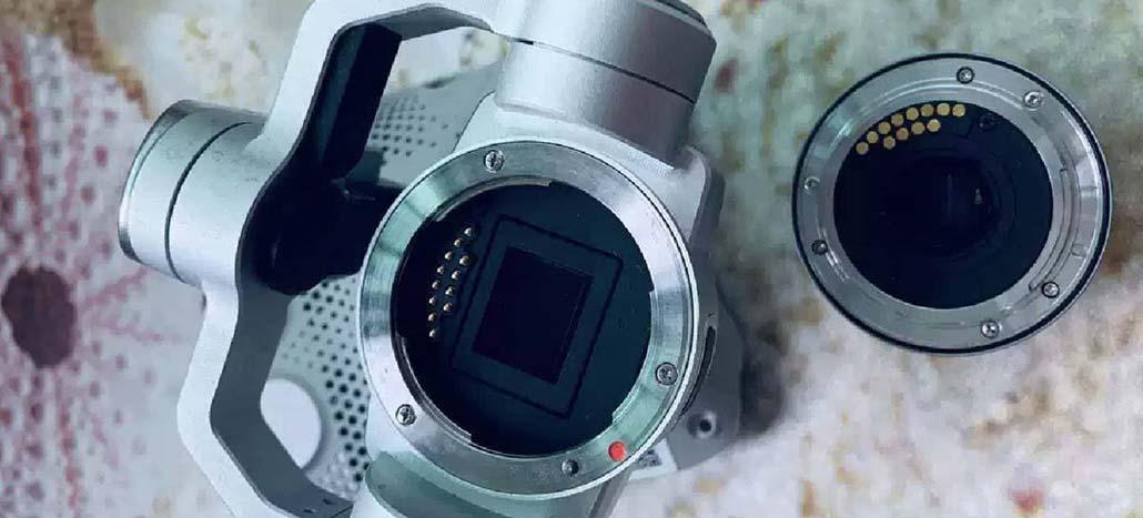 Fotos de câmera com lente removível da DJI são publicadas na internet [Rumor]