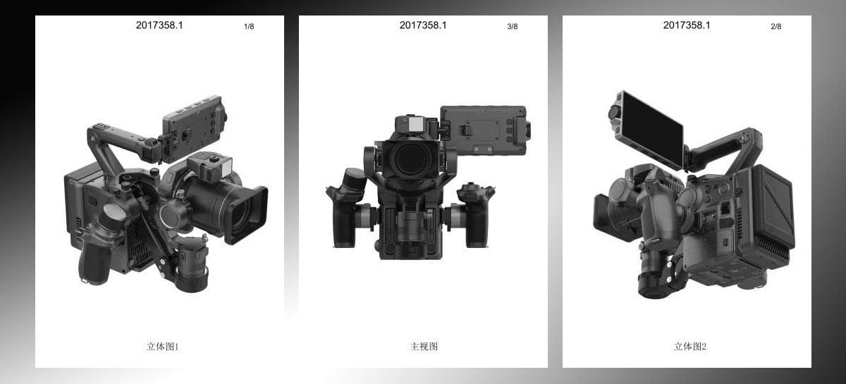 Imagens de suposta câmera profissional da DJI aparecem na internet