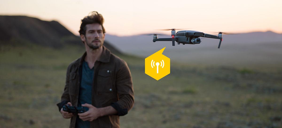 DJI apoia com restrições a posição da FAA de rastrear drones nos EUA