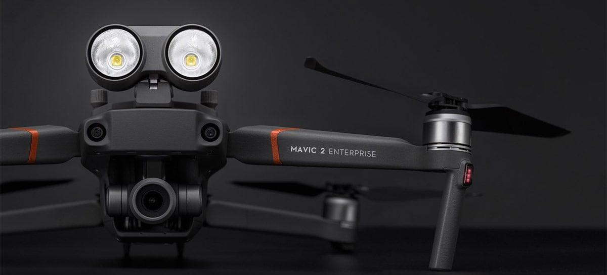 DJI anuncia o fim da produção de grande parte de seus drones corporativos