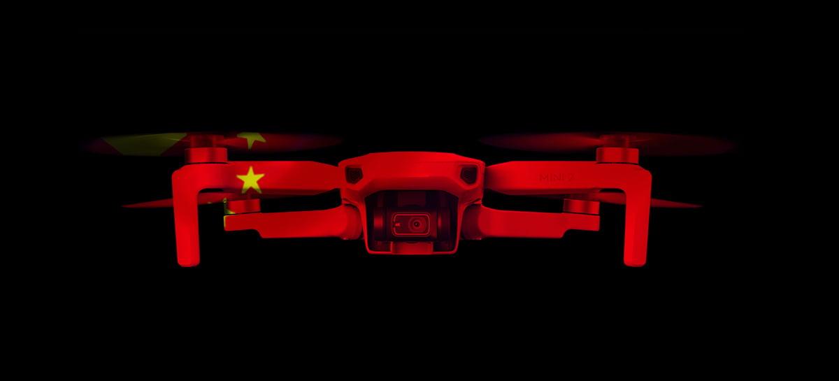 DJI, assim como Huawei, entra na lista negra dos EUA