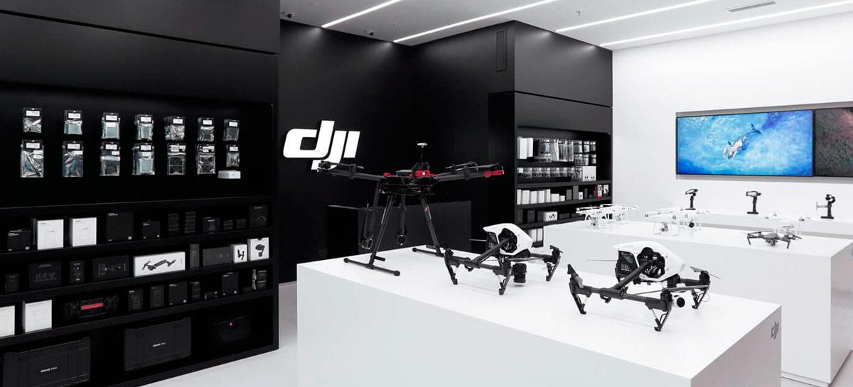 """DJI diz que vai continuar vendendo nos EUA """"normalmente"""", mesmo sendo banida"""