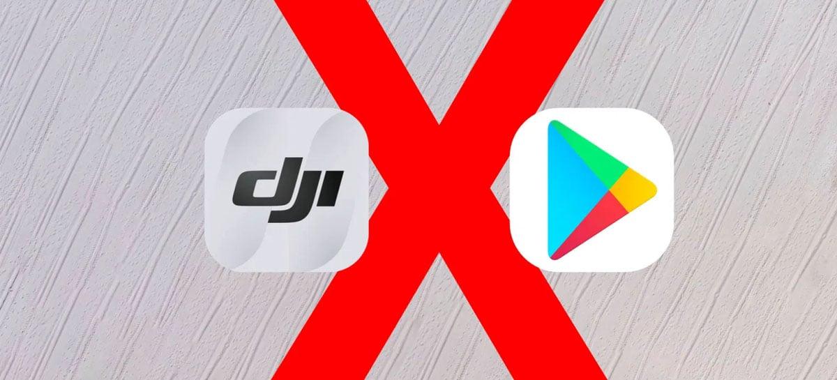 Versão para Android do DJI Fly agora oferece atualizações direto pelo aplicativo
