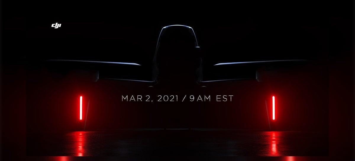 Agora é oficial: DJI vai lançar seu drone FPV no dia 2 de março