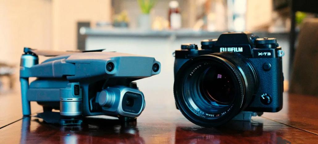 Câmeras Fujifilm terão recursos compatíveis com drones DJI em breve