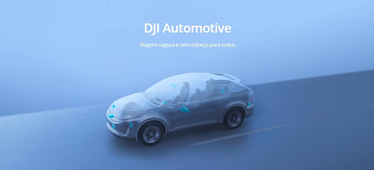 DJI lança a plataforma de carros inteligentes DJI Automotive