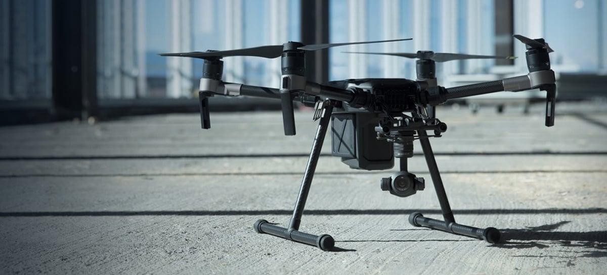 Vazam especificações do drone DJI Matrice 300