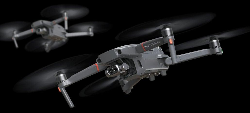 DJI anuncia Mavic 2 Enterprise Dual com câmera termográfica da Flir integrada