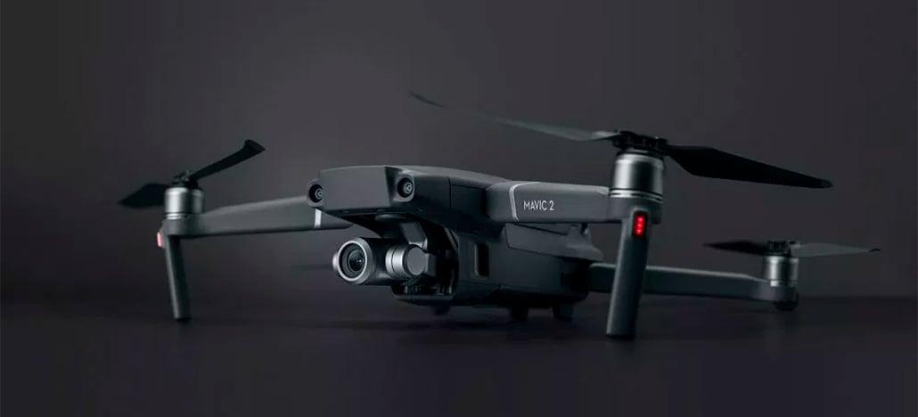 DJI lança seus novos drones Mavic 2 Pro e Mavic 2 Zoom por US$ 1.449 e US$ 1.249, respectivamente