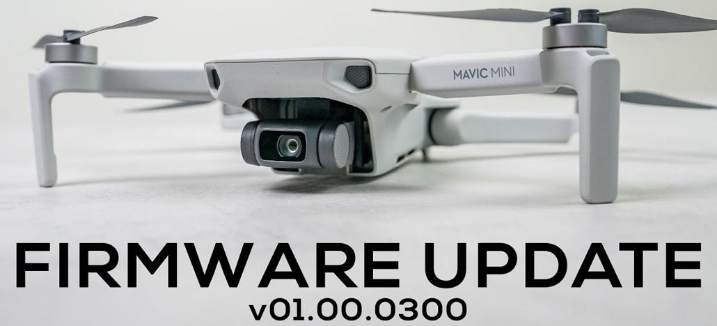 Atualização de firmware para o DJI Mavic Mini traz várias otimizações