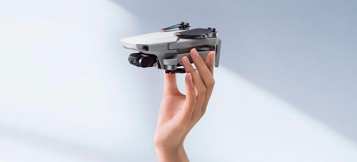 DJI Mini 2 vem com pesquisa de público para produtos e serviços futuros