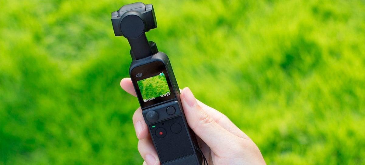 Update do DJI Pocket 2 traz vídeo em HDR, monitoramento de áudio e mais funções