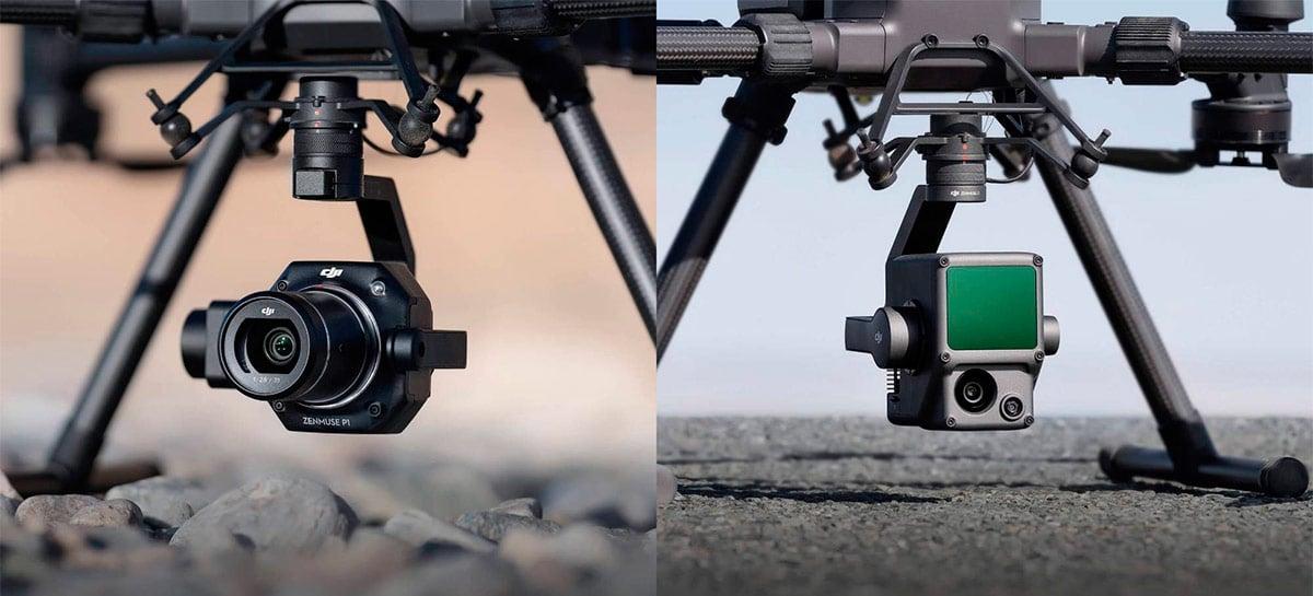 DJI lança primeira solução Lidar integrada em nova carga para drone Matrice 300 RTK