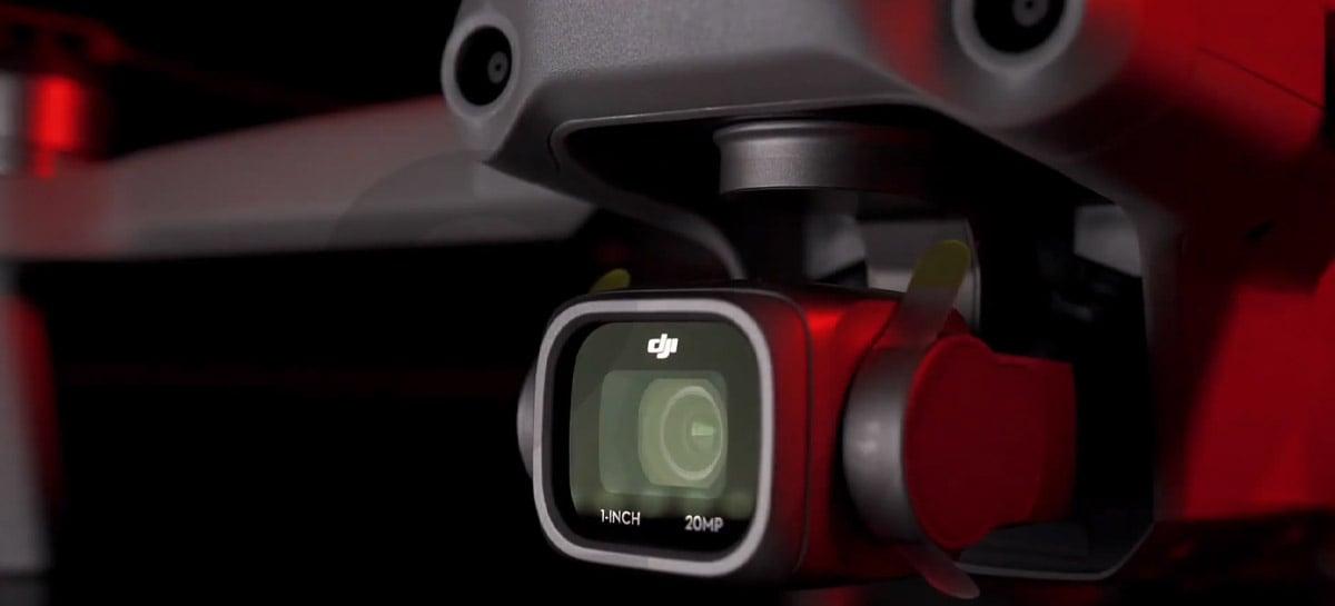 DJI Air 2S deve trazer câmera com sensor de 1 polegada, 20MP e também ADS-B