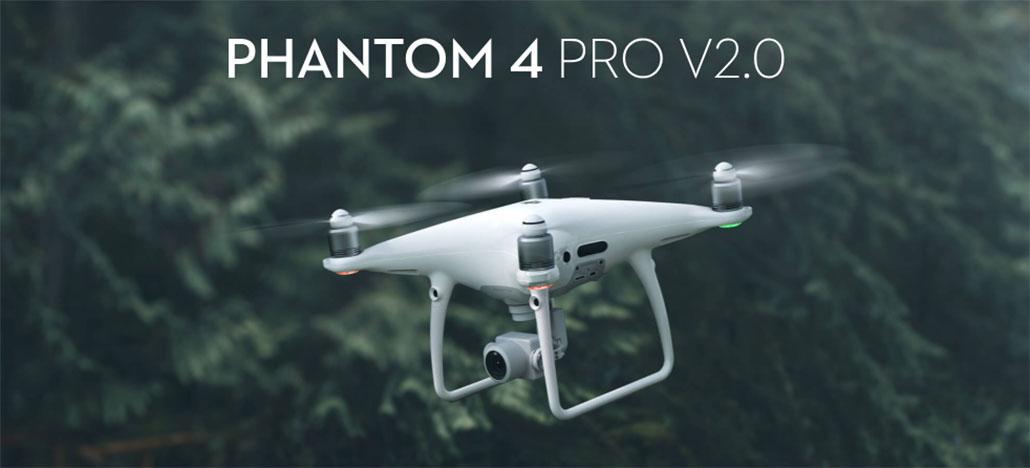 DJI lança atualização de firmware do Phantom 4 Pro V2.0