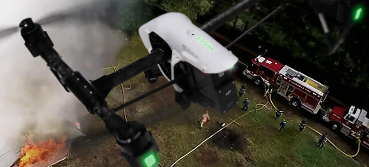 Drones da DJI serão utilizados em atendimentos emergênciais