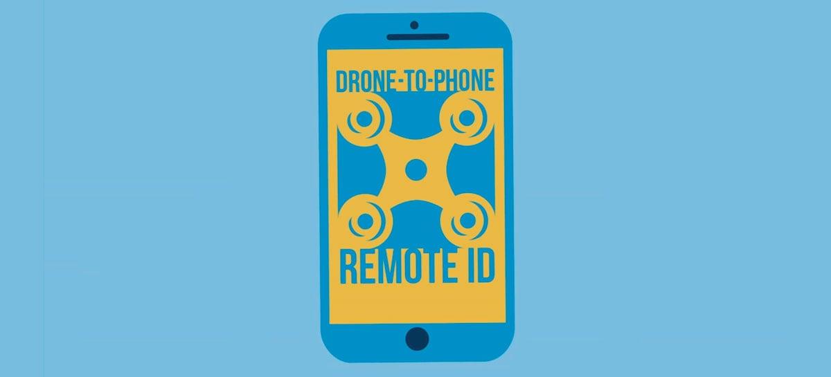 DJI Drone-to-Phone Remote ID mostra localização de drones em tempo real no celular