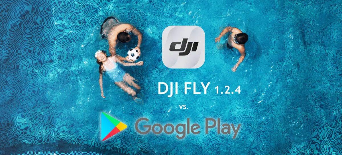 App DJI Fly 1.2.4 para Android é lançado, mas continua fora da Google Play